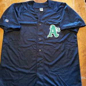 Vintage Oakland Athletics A's MLB jersey